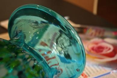 Blue vase debiriley.com