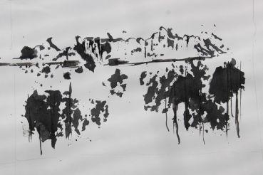 Ink drawing ideas, beginners, debiriley.com