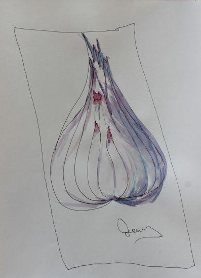 ink drawing beginner ideas, debiriley.com