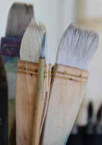 fun brushes, Hake, chinese brush debiriley.com