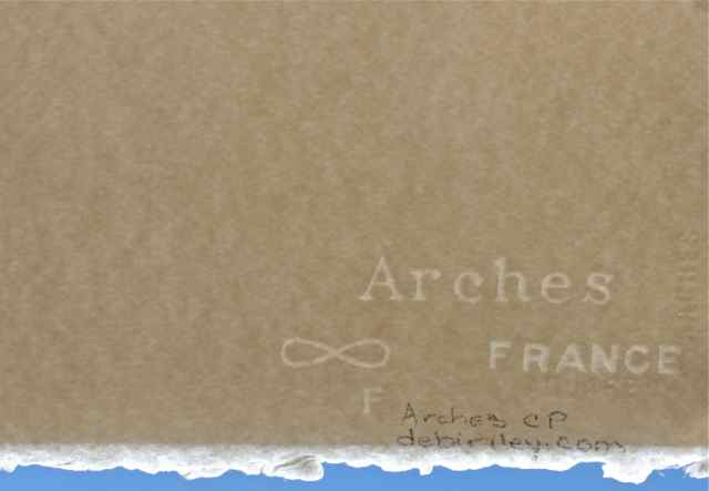 arches watercolour paper watermark One of the exciting features of the arches papers is that when you use the, you  are using  11x15 sheets may have a watermark or limit number of deckle edges.