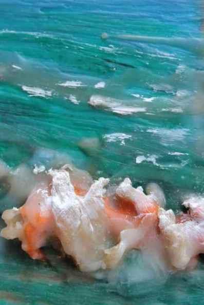 turquoise encaustic debiriley.com