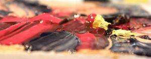 palette knife  & acrylics