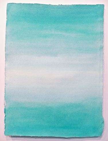 Cobalt Teal Blue Pb50 watercolour painting, debiriley.com