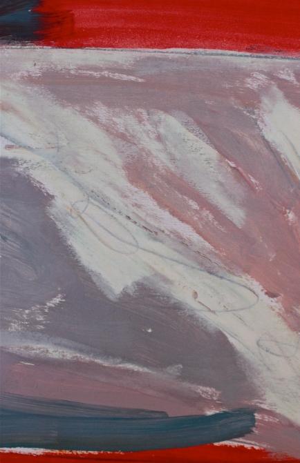 Scarlet Inferno oils/graphite on paper debiriley.com