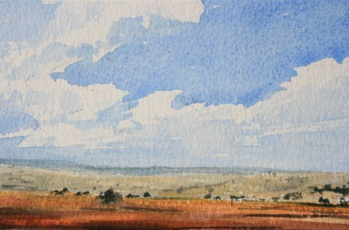 watercolour clouds debiriley.com