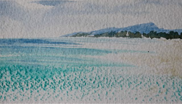 5 Techniques To Create Texture inWatercolours