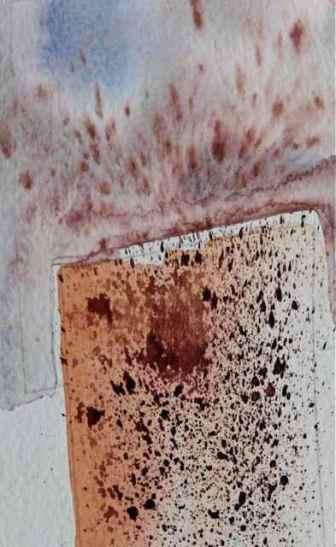 textural techniques, splatter wet/dry debiriley.com