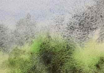 Zoisite and Apatite watercolours debiriley.com