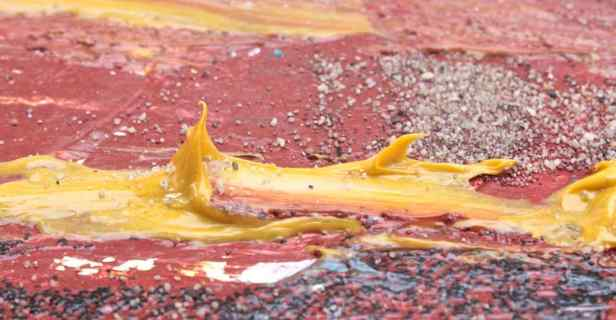 playing with paints, in acrylics debiriley.com
