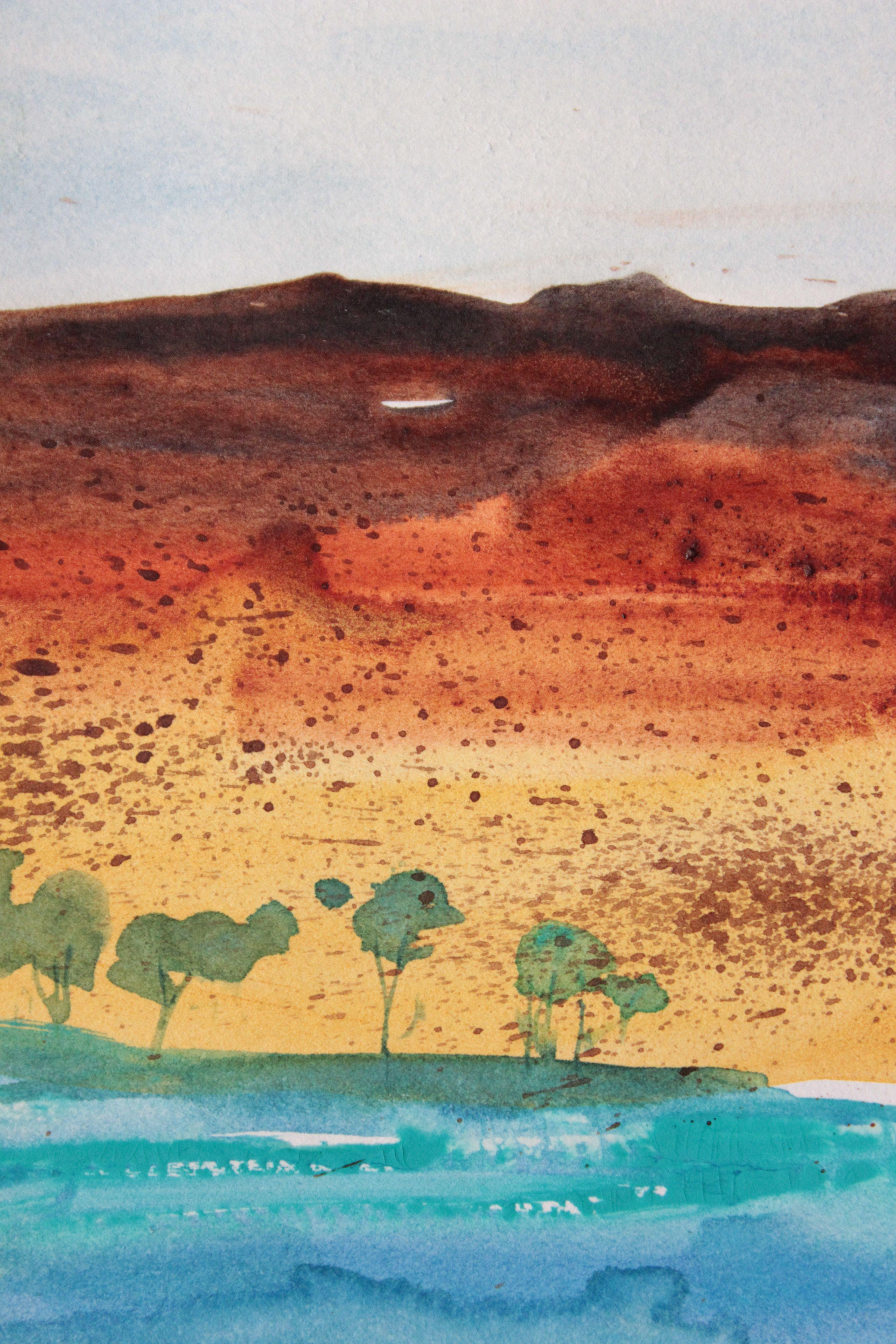 Impressionistic Watercolour debiriley.com