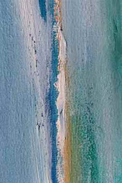 Broken edge lines oil paints debiriley.com