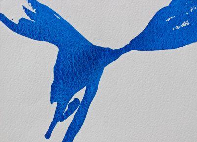 ultramarine blue watercolour painting debiriley.com