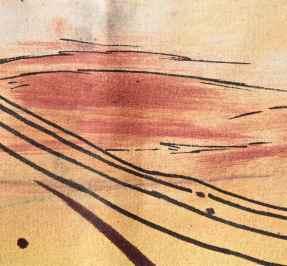 Leading Lines Oil paints debiriley.com