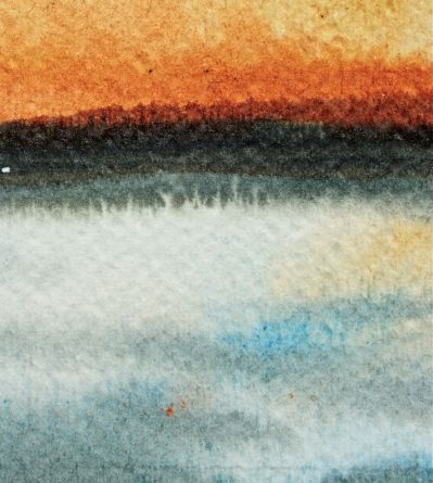 impressionistic watercolour landscape debiriley.com