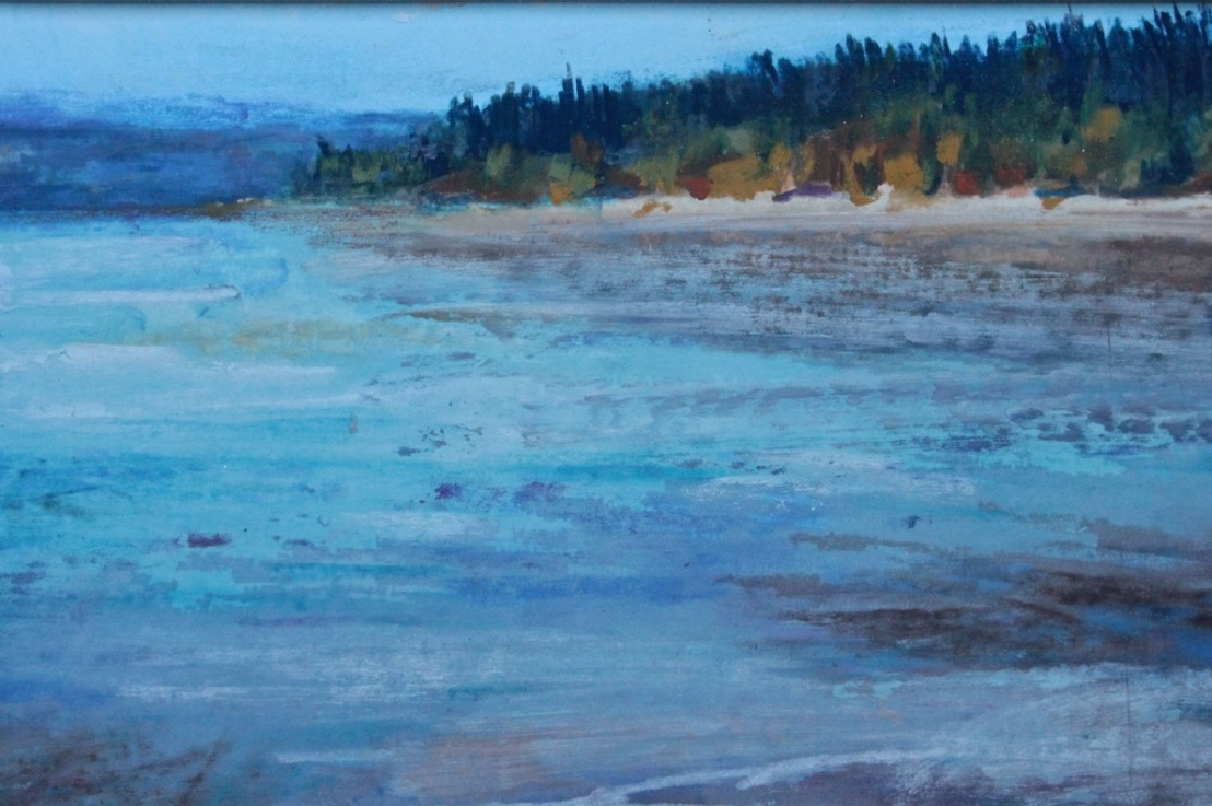 Impressionistic Landscape inPastels