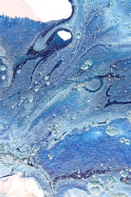Blue acrylics debiriley.com