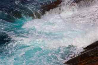 Sea Foam in cobalt teal, photo Esperance W.A. debiriley.com