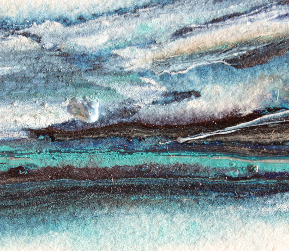 Winter's Edge watercolour landscape debiriley.com