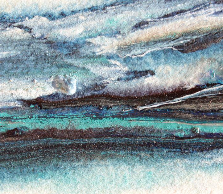 Winter's Edge watercolour landscape debiriley.com