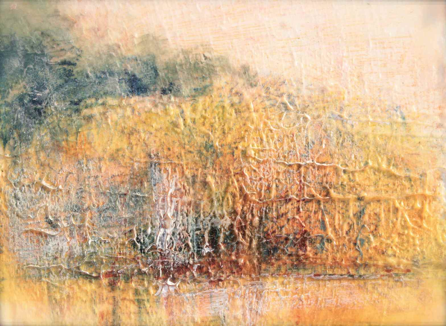Autumn Landscape prussian blue pb27, debiriley.com