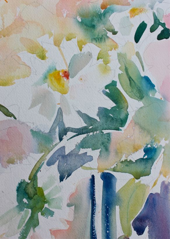 watercolour bouquet debiriley.com