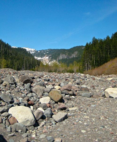 River Bed Mt Rainier Kelly Riley Walker