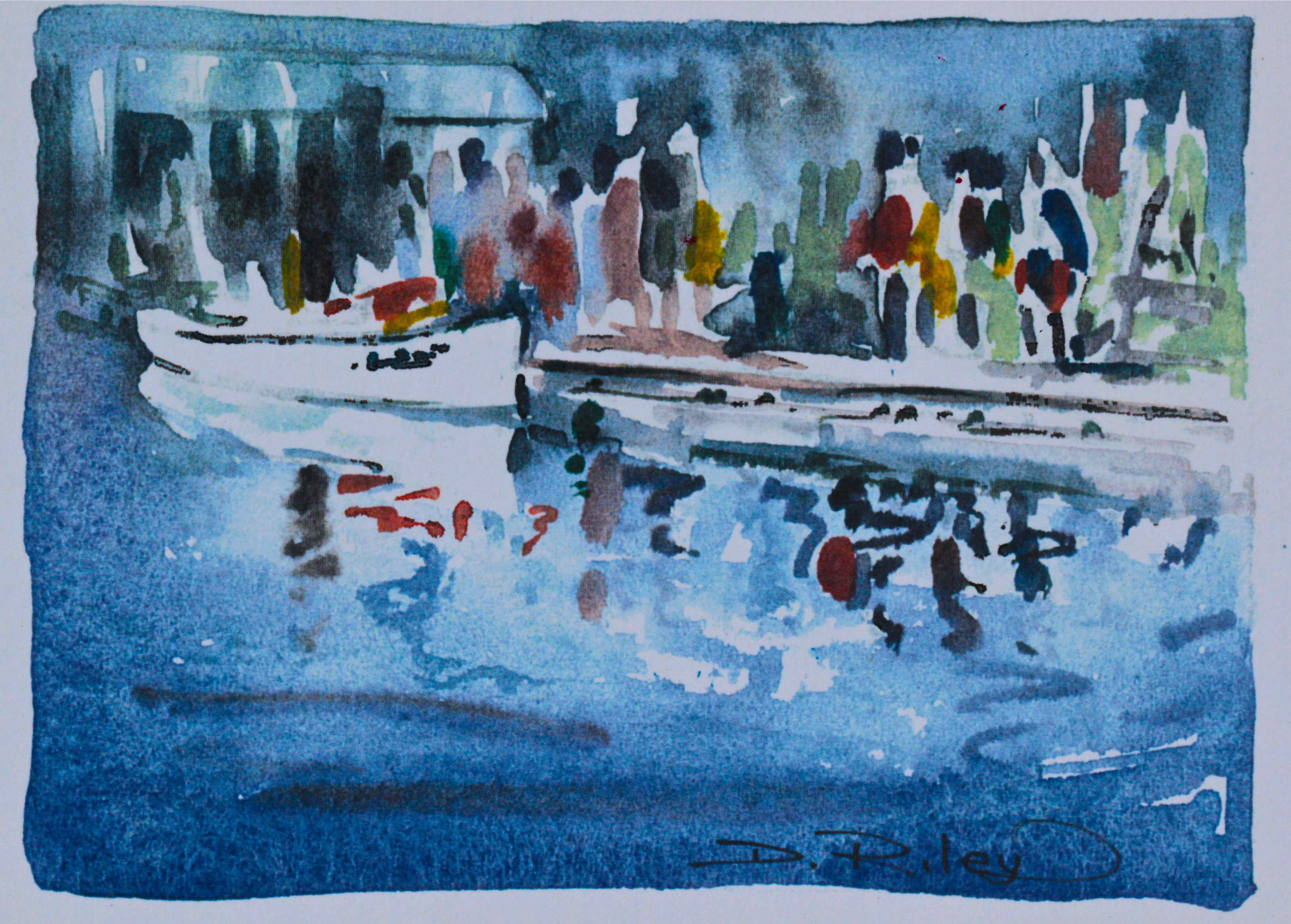 Watercolour's Soft Impressionism – debi riley
