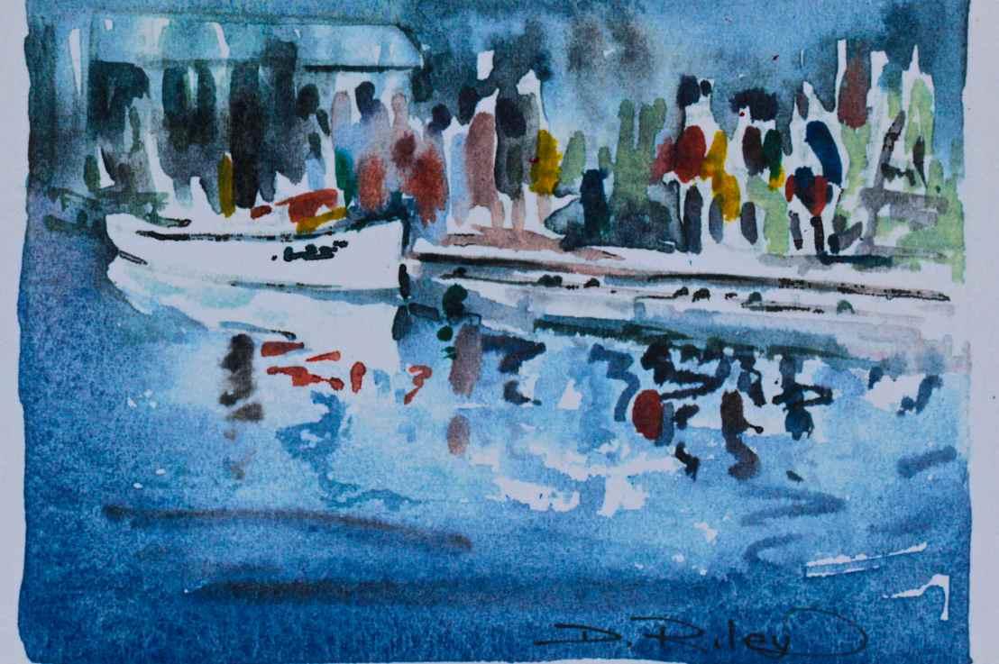 Watercolour's Soft Impressionism