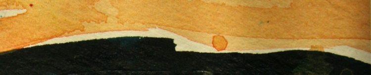 sunset watercolors, debiriley.com