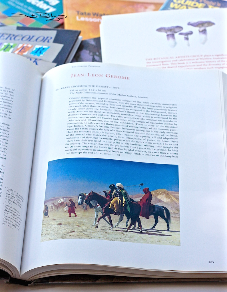 Jean Leon Gerome artist, best art books, debiriley.com
