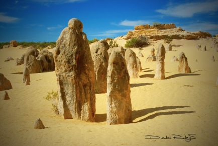 figures,  The Pinnacles WA