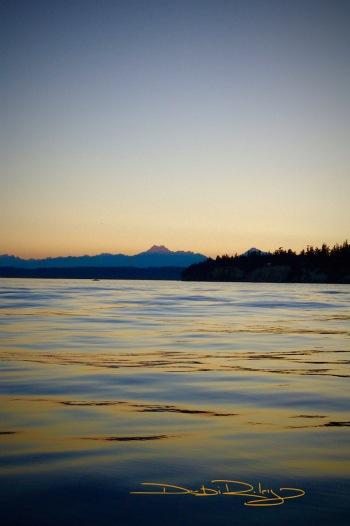 Puget Sound, dusk debiriley.com
