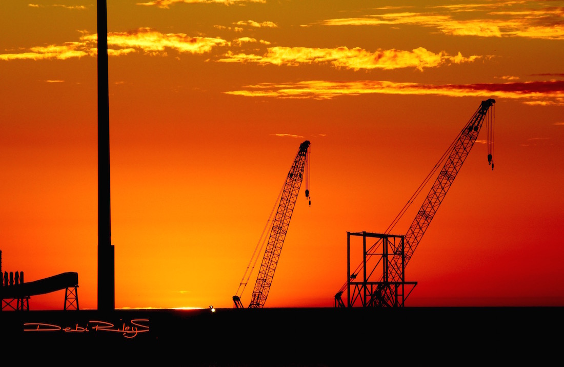 sunset geraldton wa photo debiriley.com