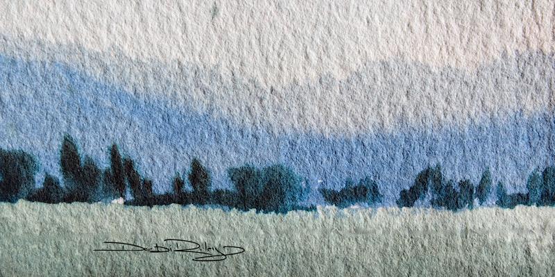 Watercolour Trees Part IIRelaxing