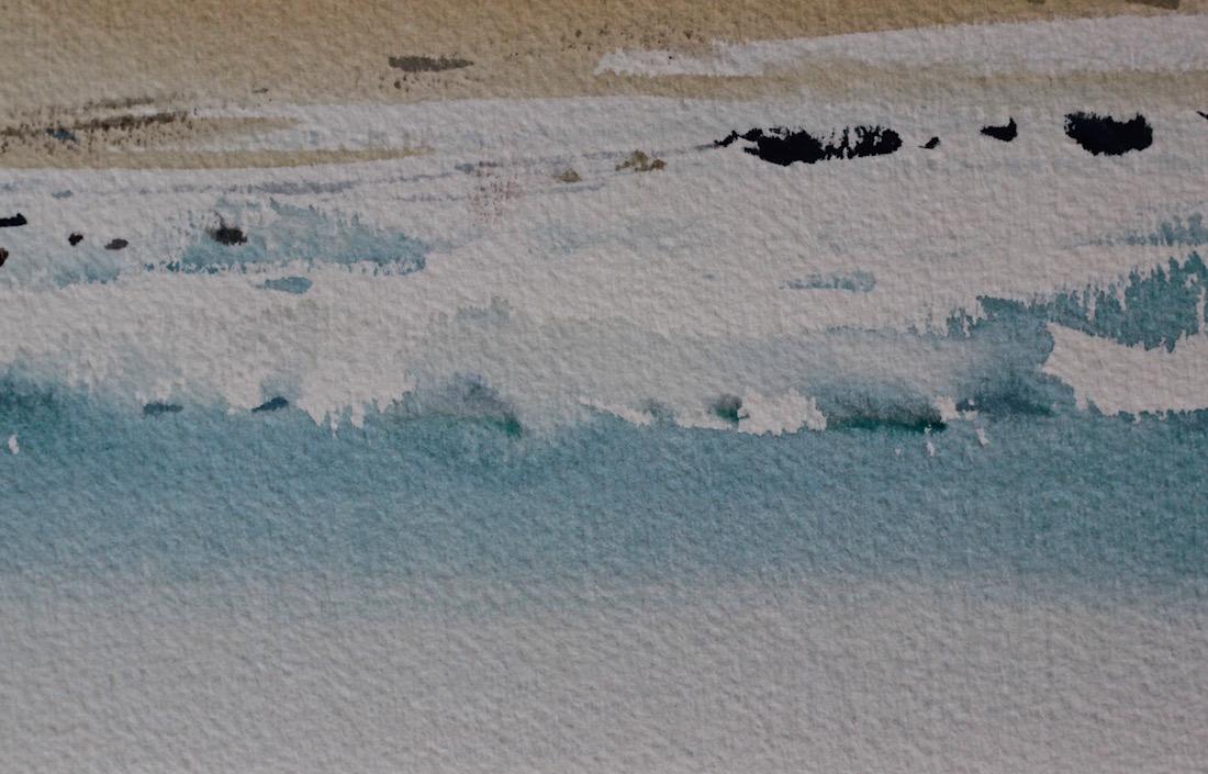 watercolour washes, water ocean, debiriley.com