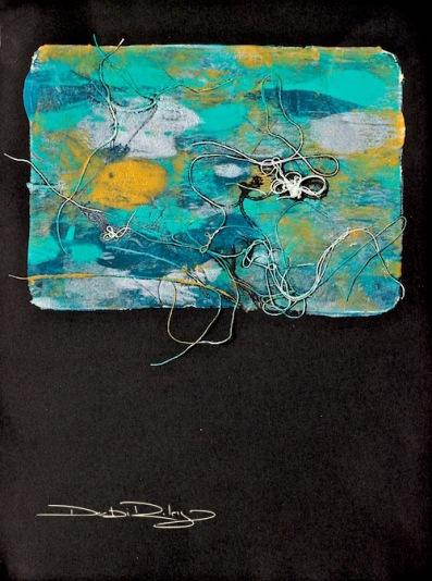 golden fluid acrylics, matisse flow, acrylic techniques, debiriley.com