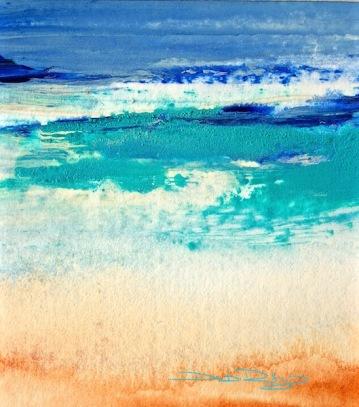 Ocean ultramarine blue, cobalt teal, debiriley.com