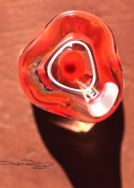 Inspiration from Orange Glass, debiriley.com