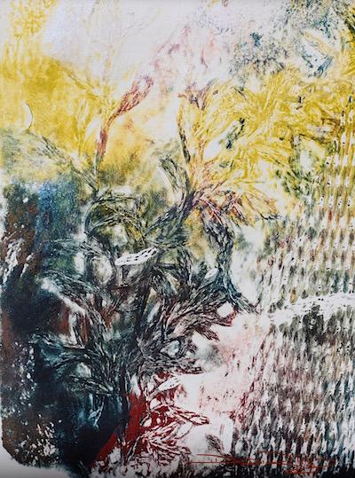 Bush Patterns in Acrylics, debiriley.com