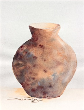 winsor orange glaze watercolour, debiriley.com
