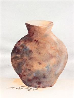 winsor orange glaze watercolour, debiriley.com
