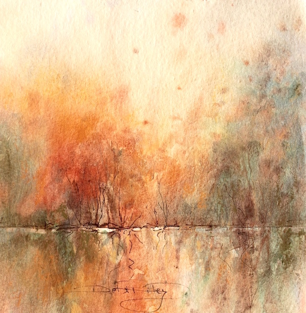 Painting Watercolour In The Wilds 6 Tips