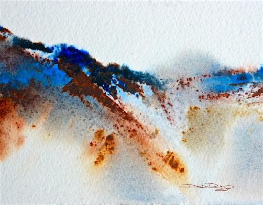 watercolour tips, ultramarine blue pb29, debiriley.com