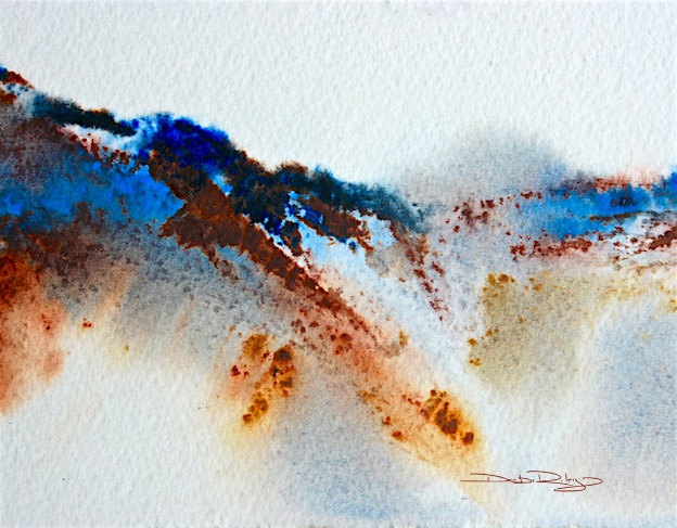 watercolour tips, ultramarine blue pb29, debiriley.com
