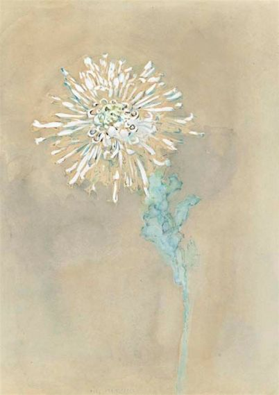 Mondrian painting, flower, debiriley.com