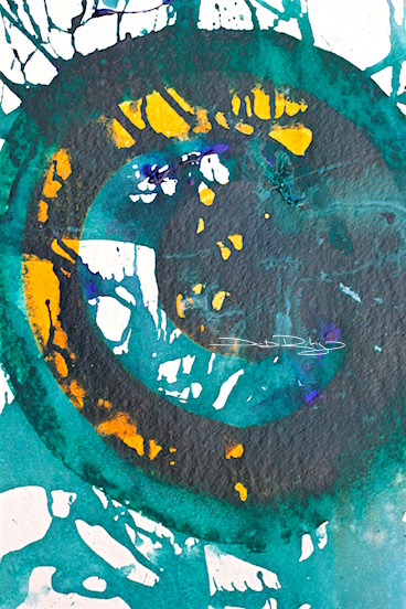 abstract art painting, acrylics, debiriley.com