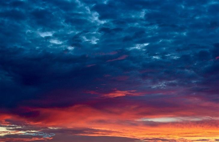 Skies of Fire, Edgar Allan Poe, debiriley.com