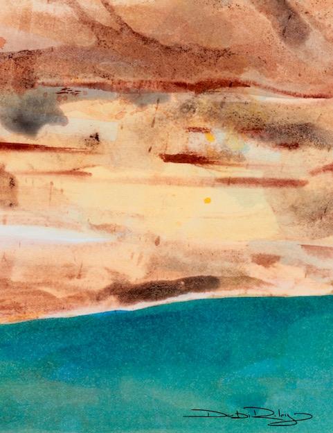 Love of color, watercolor, debiriley.com