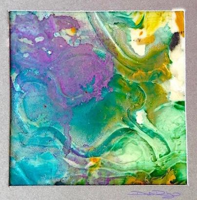 cool purple watercolor textures, debiriley.com